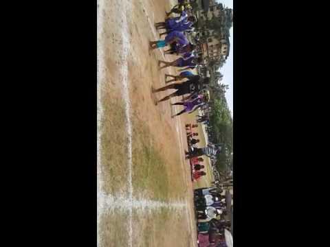 Kalkhikare kabbadi team Sangeeta patakare  captain state level karawar distic 06/09/2016