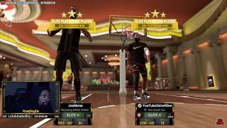 98 OVR PLAYMAKING ATHLETIC ISOLATED! LIVE REACTION ANTE UP ELITE 3 COMP GAMES! NBA2K19 MYPARK ISO!