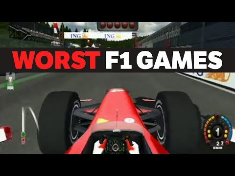 The Top 5 Worst F1 Games In History