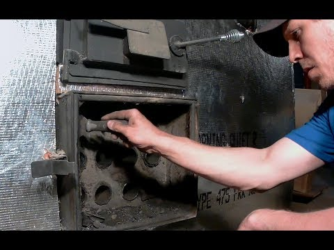 #11 - Cleaning an Indoor Gasification Wood Boiler