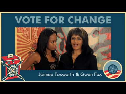 Jaimee Foxworth Gwen Fox On Vote For Change