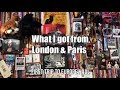 Paris & London Trip Haul