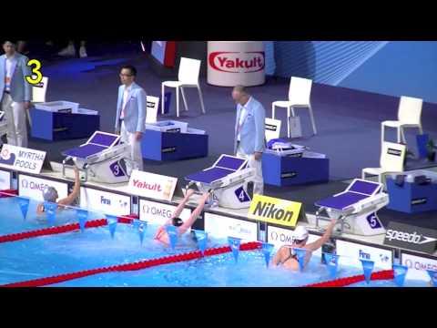 Missy Franklin routines. Backstroke