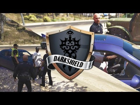 GTA 5 Roleplay | DarkshieldRP - New car new problem (Law Enforcement)
