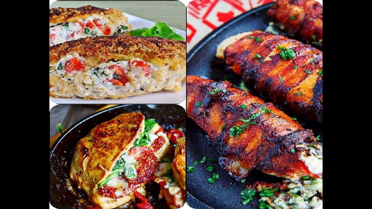 R Chicken Breast Recipes 3 Delicious Stuffed Ch...