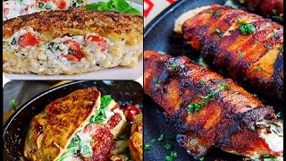3 Delicious Stuffed Chicken Breast Recipes