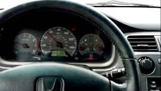 2002 Honda Accord EX Coupe 2.3L VTEC Quick Test Drive & 0-60 @ 3/4 Throttle
