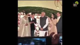Narendra Modi meets Nick Jonas and Priyanka Chopra in their Wedding
