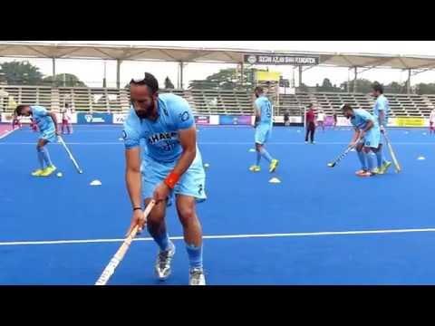 Sardar Singh Slow Motion dribble