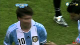 TERCER GOL DE MESSI A  BRASIL (ARGENTINA 4 BRASIL 3)