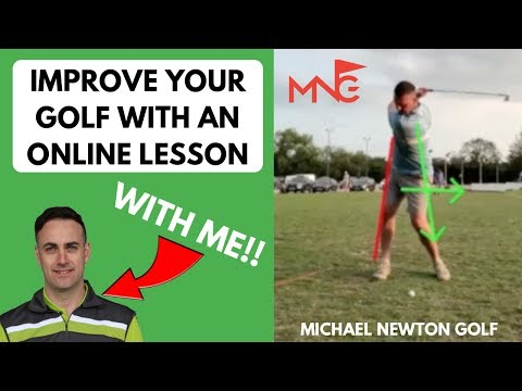 Improve Your Golf With Michael Newton's Online Golf Lessons