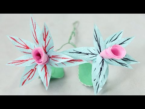 How to Make Orchids Flowers using Tissue Paper - Orchidaceae Tissue Paper Flowers