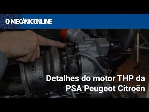 Detalhes do motor THP da PSA Peugeot Citroën