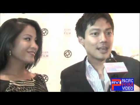 Karin Anna Cheung and Archie Kao at the LA Asian Pacific Film Festival