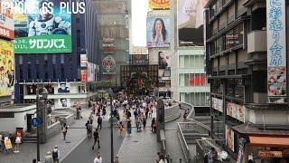iPhone 6s vs 6s Plus 4K video test in Osaka, Japan