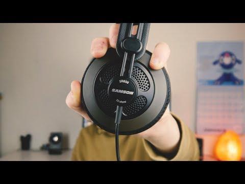 STUDIO QUALITY HEADPHONES UNDER $50? Samson SR850 review