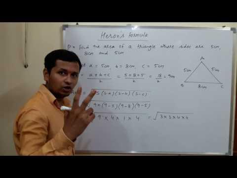 Class IX- Heron's Formula