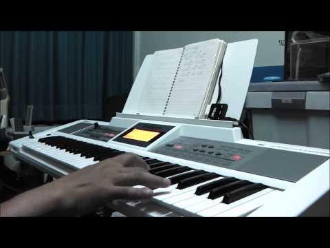 """ฝึกการใช้ Modulaiton คีย์บอร์ดไฟฟ้า Roland E-09W กับเพลง """"ครวญ"""" เสียงซอเอ้อหู"""