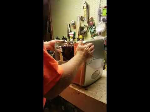 Easy DIY how to fix portable Salton ice maker repair part 1 of 2