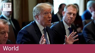Donald Trump Condemns Alleged Syria Chemical Attack