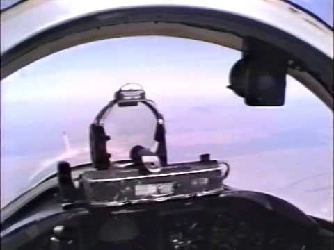 Military T-38 Jet Flight Helmet Cam Full Comms