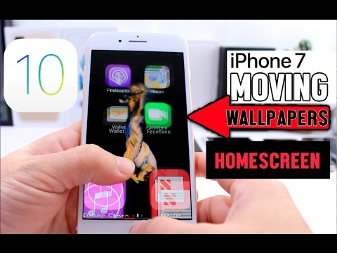 Live Wallpapers on iPhone Home Screen iOS 10 Glitch (No Jailbreak) - YouTube