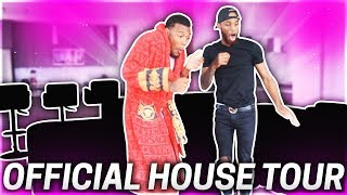 OUR  FURNISHED HOUSE TOUR!!! (WE TURNED OUR HOME  INTO A NIGHT CLUB)
