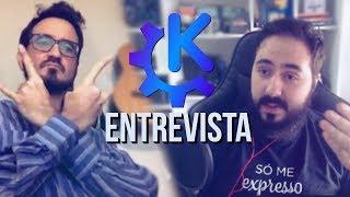 O UNIVERSO KDE - DIOLINUX ENTREVISTA TOMAZ C. - Parte 1