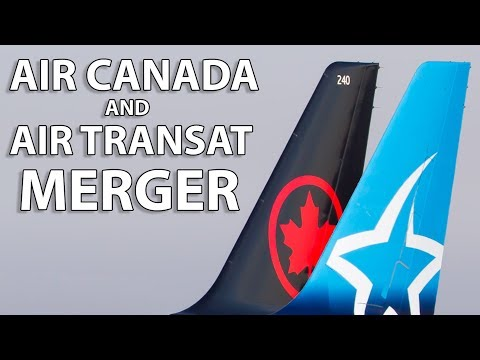 Air Canada And Air Transat To Merge