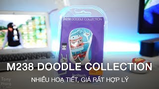 [Gear] Chuột không dây Logitech M238 Doodle Collection - Nhiều màu sắc, giá hợp lý - Tony Phùng