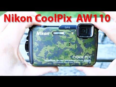 Nikon Coolpix AW110 review - GPS & Wi-Fi wmu all-weather underwater camera