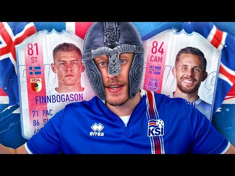 IF GYLFI AND FINN! THE HEROES OF ICELAND SQUAD CHALLENGE! FIFA 19 ULTIMATE TEAM
