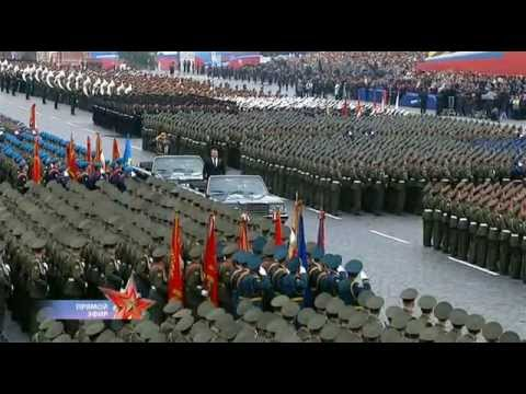 FULL VIDEO of Military Parade in Moscow on Victory Day 2012