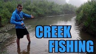 Kentucky Creek Fishing!