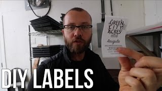 HOW TO MAKE DIY LABELS!!