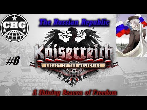 HOI4: Kaiserreich - Russian Republic #6 - Middle East Instability