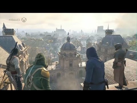 E3 2014 - Assassin's Creed Unity Co-op GAMEPLAY Demo Trailer (Assassin's Creed Unity)