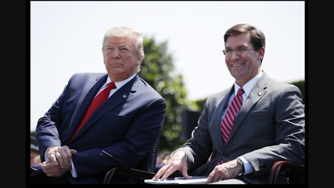 Bucking Trump, Pentagon chief Esper says no need for military ...