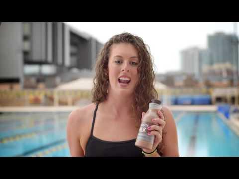 Allison Schmitt Chooses Chocolate Milk