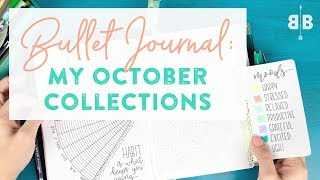 Bullet Journal: My October Collections