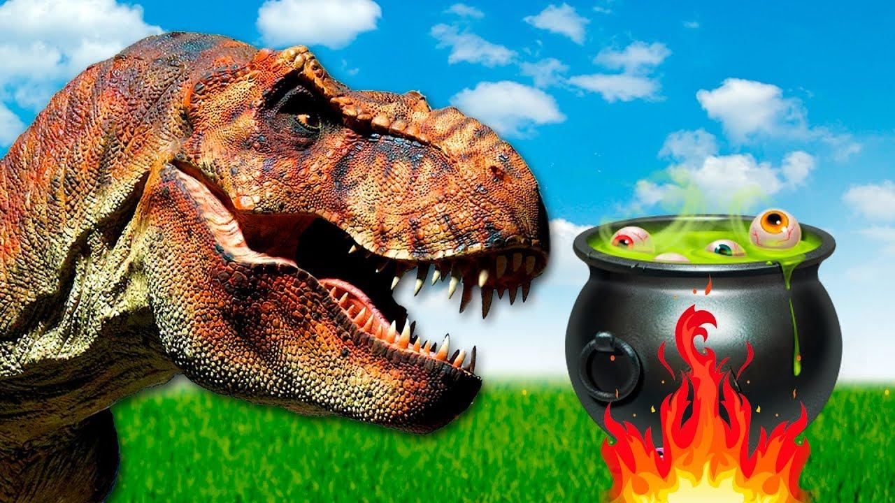 Dinosaurs - Return of tyrannosaurus Rexie