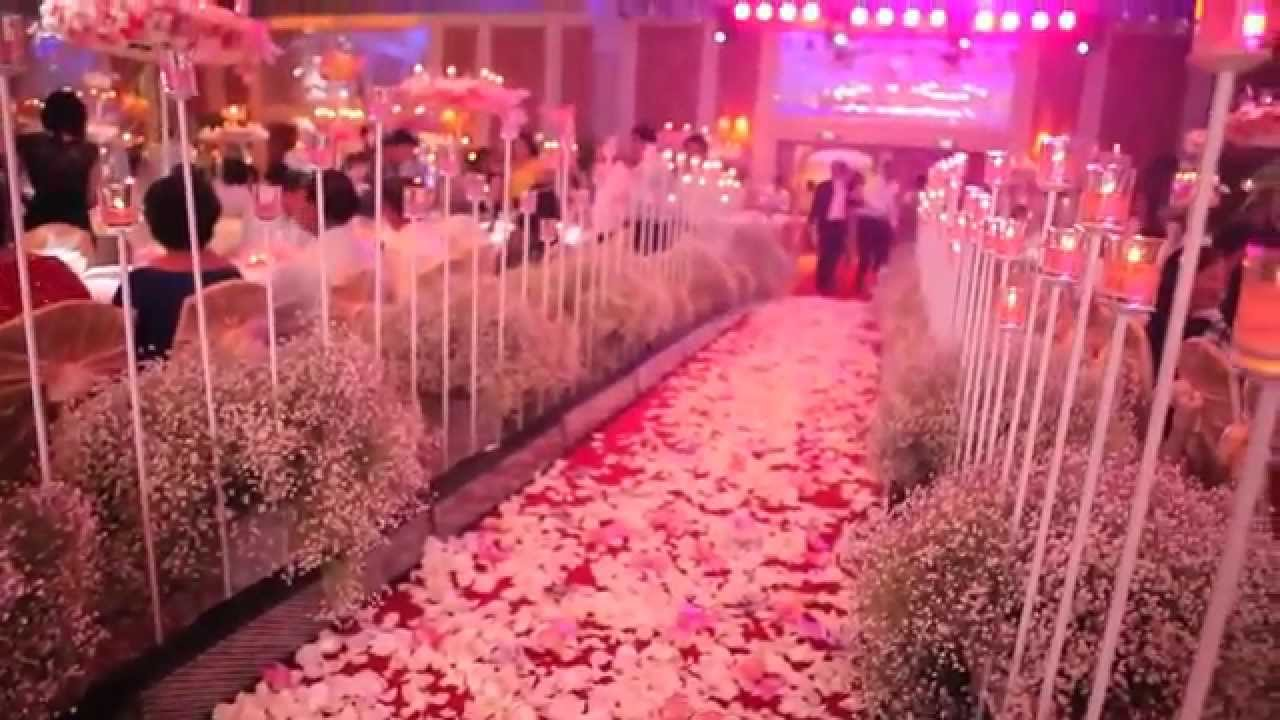 Decoracion de jardines y salones para eventos youtube for Arreglos de salon para quince anos