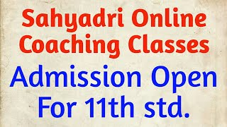 Admission Open For 11th online Classes | 11th/12th Online Classes