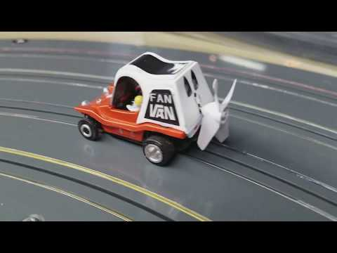 Fan Van the Propeller powered slot car
