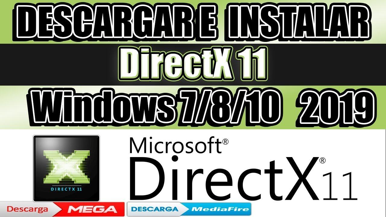 descargar directx 11 windows 8 mega