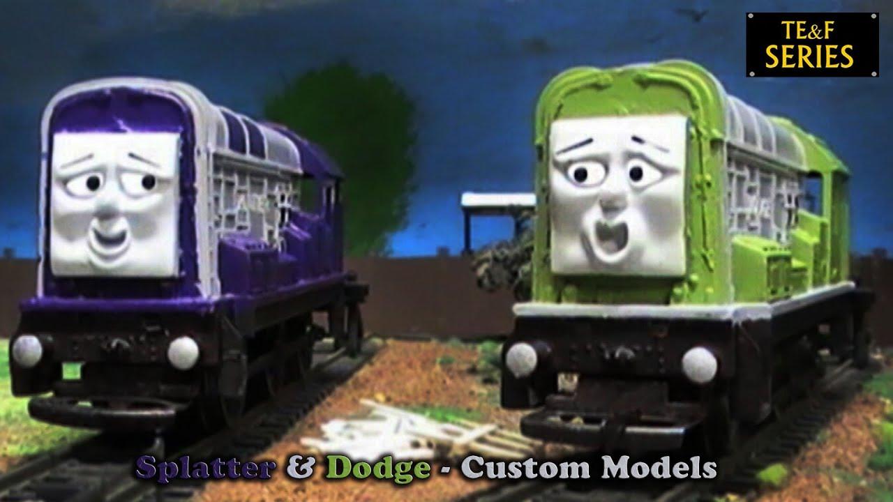 Thomas Friends Splatter Dodge Custom Models Youtube