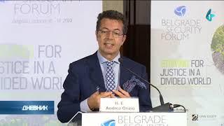 Beogradski bezbednosni forum, Francuska poslala loš signal