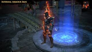 Path of Exile - Infernal Armour Skin