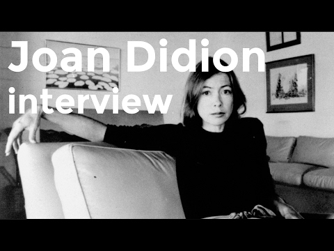 Joan Didion interview (1992)
