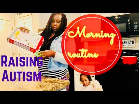 RAISING AUTISM | MOMMY MORNING ROUTINE WITH 5 CHILDREN | JAMAICAN VLOGGER